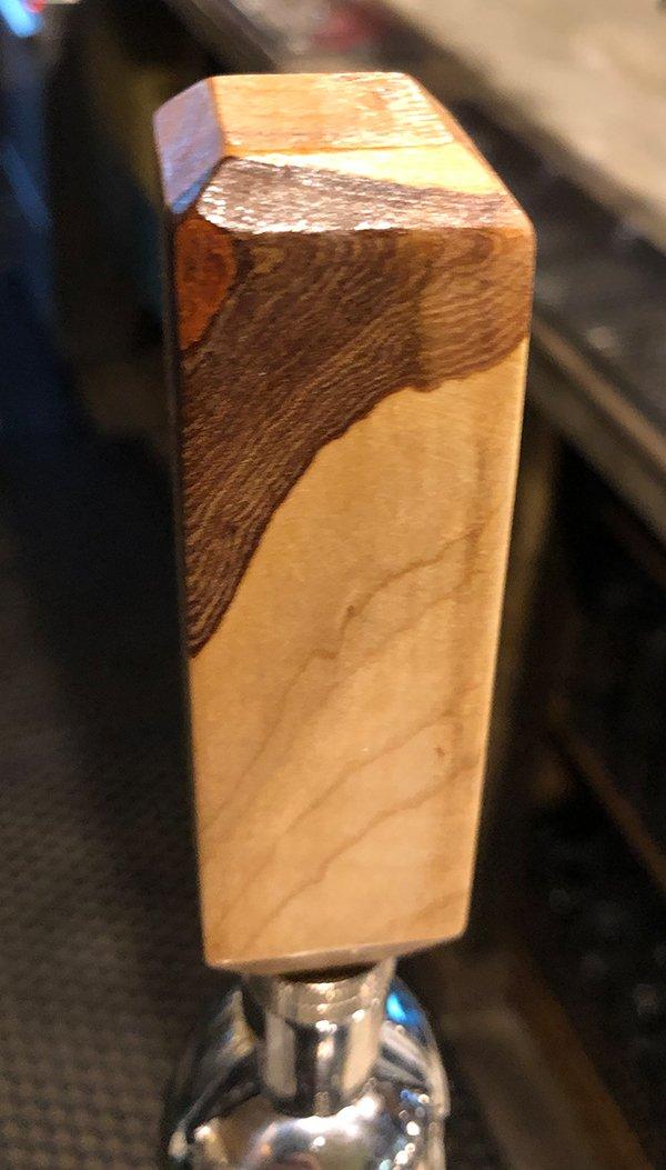 Custom Maple Bar Tap Handles