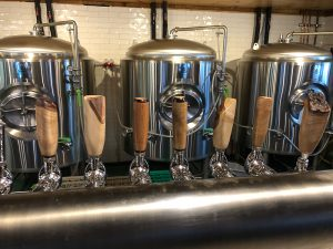 Custom Maple Bar Tap Handles